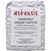 Astensis Mandorle Tostate Grezze 1Kg - Mandorle Intere Naturali Italia - Per Farine Creme Dolci - Sottovuto - Adatte Per…