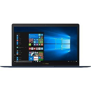 """ASUS UX390UA-GS042T - Ordenador portátil de 12.5"""" FullHD (Intel Core i5-7200U, 8 GB de RAM, 256 GB SSD, Intel HD Graphics 620, Windows 10 Original), azul efecto giro - Teclado QWERTY Español"""