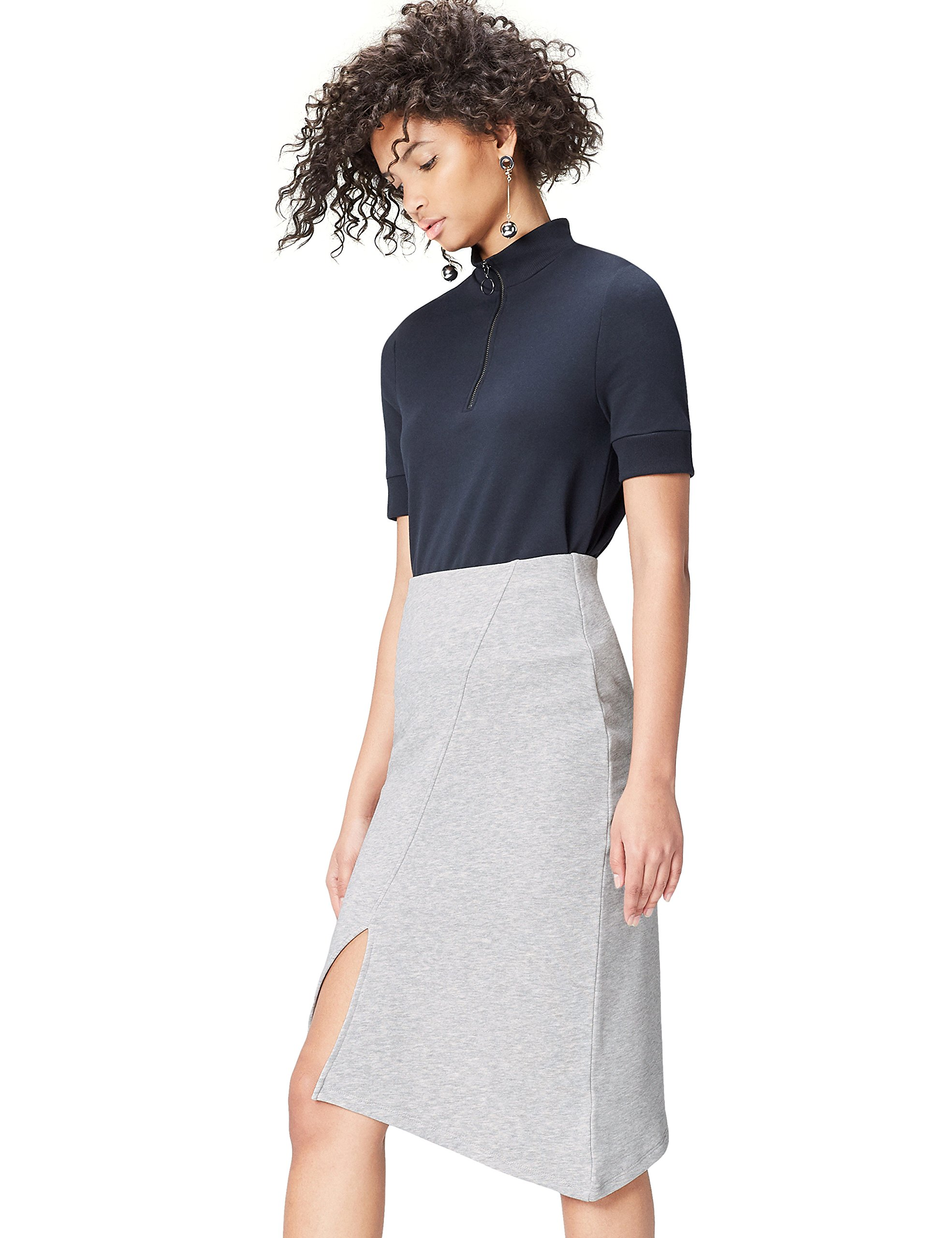 FIND Falda Asimétrica para Mujer