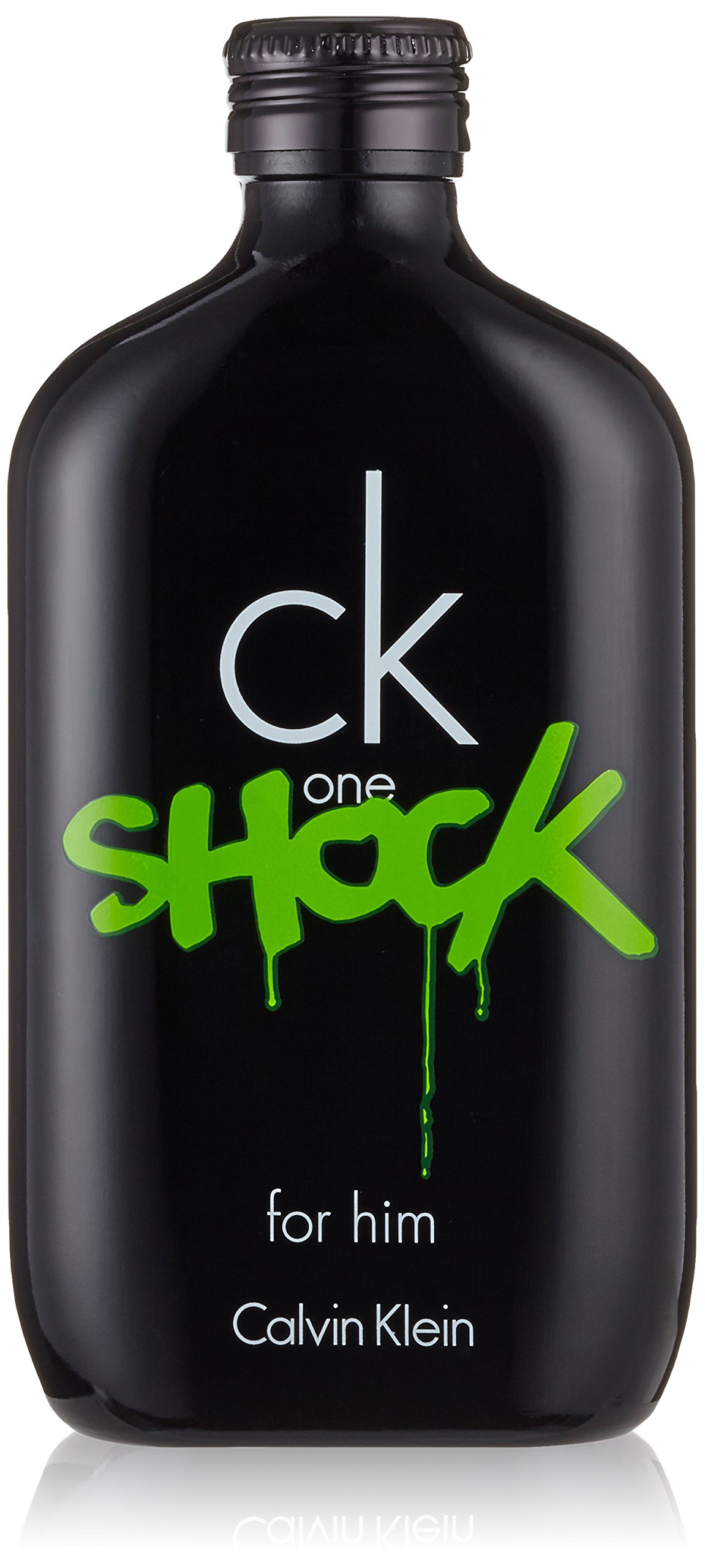 Ck one shock uomo di Calvin Klein - Eau de toilette Edt - Spray 200 ml.