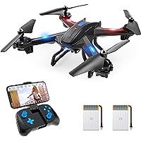 SNAPTAIN S5C 720P Drone con Telecamera HD FPV, Quadricottero WiFi Un Pulsante Decollo e Atterraggio, G-sensore, 3D Flip…
