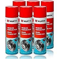 Spray nettoyant pour frein Wurth x96 (6) - Aérosol solvant - 500 ml - 1 pièce
