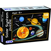 Frank Solar System Puzzle For 6 Year Old Kids And Above