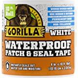 Gorilla Waterproof Patch & afdichtingstape: 4 in. x 120 in. (Wit)