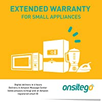 Onsitego 2 Years Extended Warranty for Small Appliances (Rs.0 to 5000) (Email Delivery - No Physical Kit)