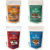 Keeros Combo of Healthy Super Snacks | Variety of Sweet & Salted, Tasty & Nutritious, Low GI, Ready to Eat Immunity Booster 8