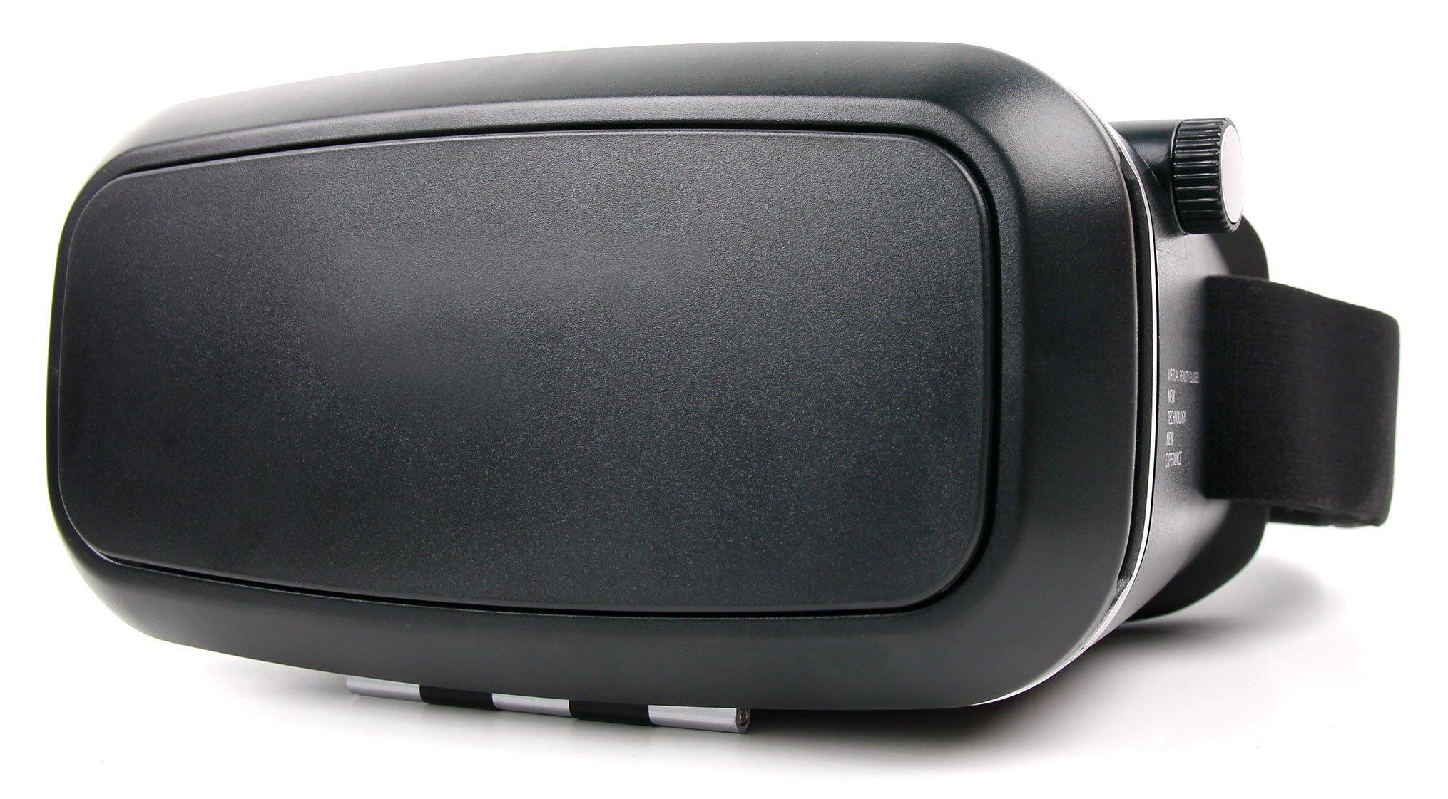 Duragadget Masque VR de réalité virtuelle Carton ou Plastique Rigide pour Samsung Galaxy J3 2017 & 2016 / J7 2017 / J5 2017 & 2016 Smartphone