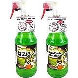TUGA Chemie 2 x 1 liter Alu-Teufel Velgenreiniger Speciale zuurvrije actieve gel voor velgen en wieldoppen. Biologisch afbree