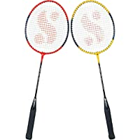 Silver's SB-100 COMBO-4 ( 2 B/RACKETS) Red-Yellow