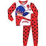 Miraculous Ladybug - Pijama para niñas Ladybug - Ajuste Ceñido