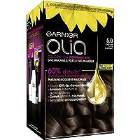 Garnier Olia - Colorazione permanente all'olio senza ammoniaca, colore: castano