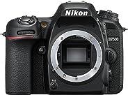 Nikon D7500 Body Fotocamera Reflex Digitale, 20,9 Megapixel, Wi-Fi, Bluetooth, SD 8GB 300x Premium Lexar, Nero [Nital Card: 4