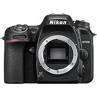 Nikon D7500 Body Fotocamera Reflex Digitale, 20,9 Megapixel, Wi-Fi, Bluetooth, SD 8GB 300x Premium Lexar, Nero [Nital…