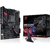 ASUS ROG Strix B550-F Gaming (Wi-Fi) Mainboard Sockel AM4 (ATX, Ryzen, PCIe 4.0, WiFi6, Intel 2,5 Gbit/s-Ethernet, 2x M…