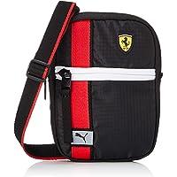PUMA Ferrari Race Mini Sac à bandoulière pour adulte Unisexe Noir Taille unique
