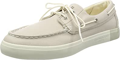 Timberland Newport Bay 2 Eye Boat Oxrainy Day Canvas, Chaussures Bateau Homme
