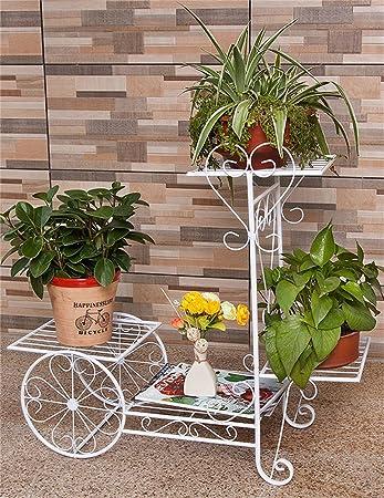 CAIJUN Blumenständer Continental Iron Fahrrad Modelle Boden Flower Pot  Regal, Grün Dill Hängende Orchidee Rack, Pflanzen Stehen Für Innen ,  Wohnzimmer, ...