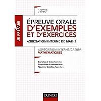 Epreuve orale d'exemples et d'exercices - Agrégation interne/CAERPA mathématiques