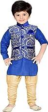 AJ DEZINES Boys' Regular Fit Kurta Pyjama
