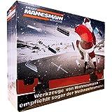 Brüder Mannesmann Werkzeuge M599950 131 stycken adventskalender