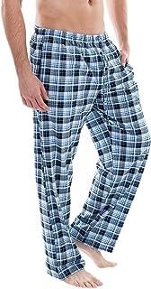 1d252c49b2e1 LAPASA Pantalon de Pyjama Homme Bas de Pyjama à Carreaux 100% Pur ...