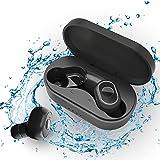 Auriculares Inalambricos Bluetooth, Cascos Inalámbricos, Auriculares Inalambricos con Microfono, Reproducci 25 Horas In-Ear E