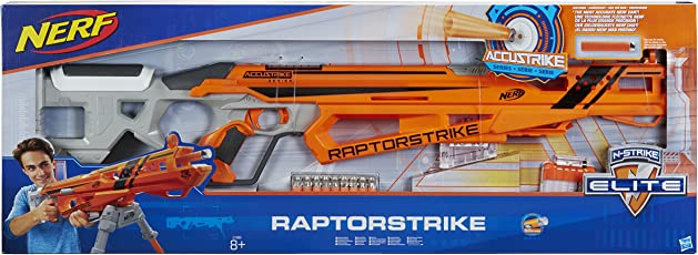Hasbro Nerf C1895EU6 - AccuStrike Raptorstrike, Spielzeugblaster