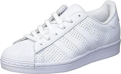 adidas Originals Superstar, Scarpe da Ginnastica Uomo, Nucleo Bianco Bianco, 47 EU