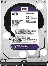 WD Purple 4 TB Festplatte zur Videoüberwachung - Intellipower SATA 6 Gb/s 264MB Cache 3,5 Zoll – WD40PURZ