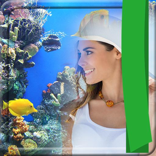 Aquarium Fotorahmen