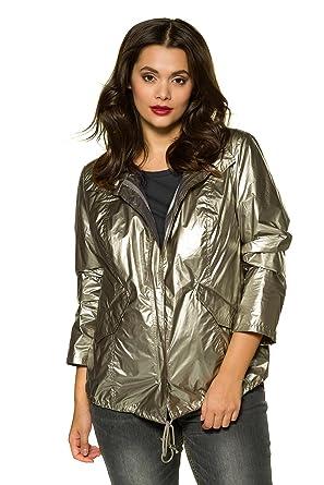 9a9ef74ef0b Studio Untold Femme Grandes tailles Veste motard Blouson court zippe a  motifs 715526  Studio Untold  Amazon.fr  Vêtements et accessoires