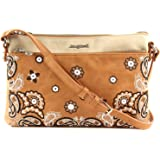 Desigual Bandana Explosive Durban Across Body Bag Marron
