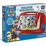 Clementoni-55070 - Maletin Educativo Paw Patrol - juego educativo a partir de 3 años