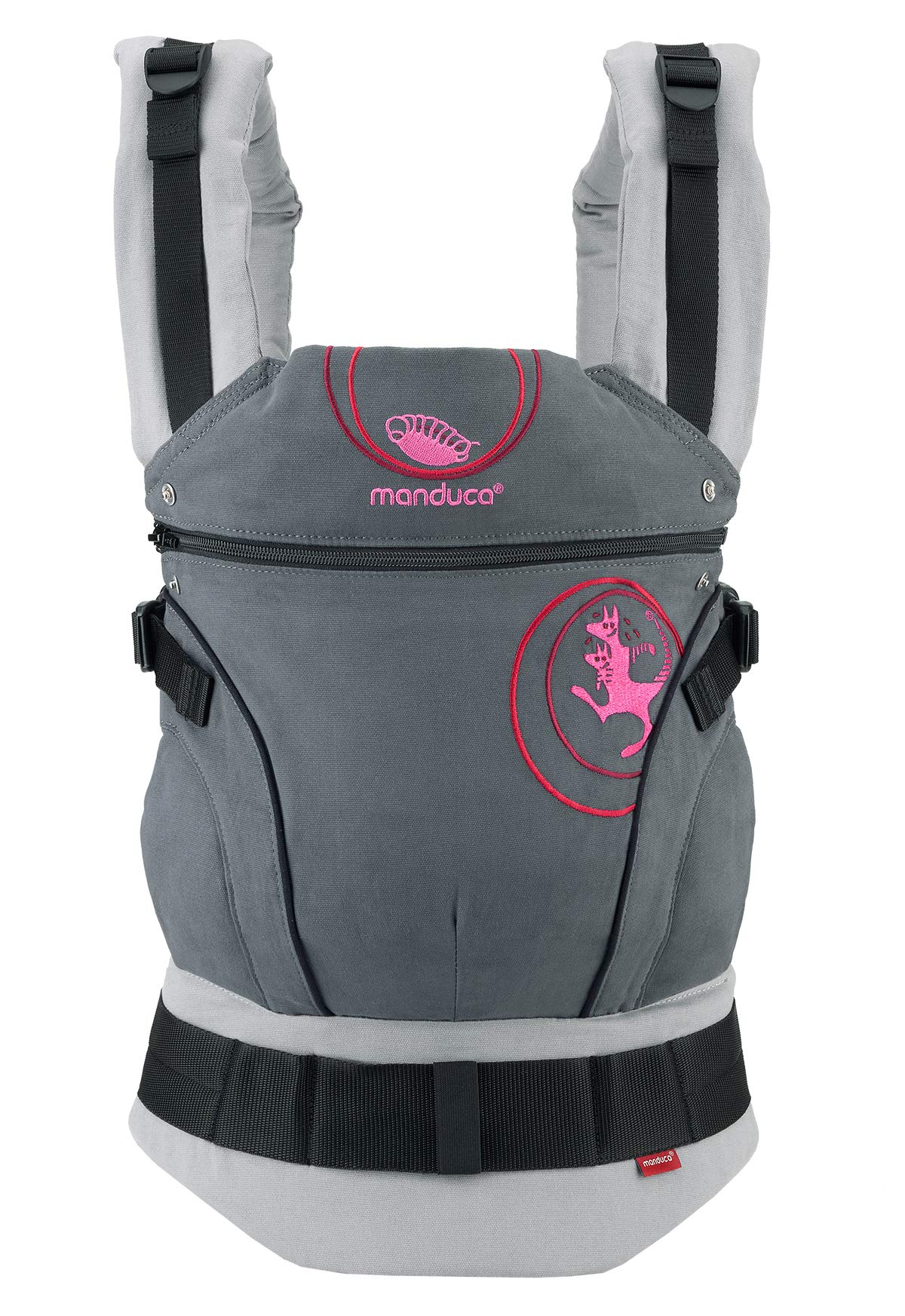 81QoqWC7WKL - manduca First Baby Carrier > PureCotton < Mochila Portabebe Ergonomica, Algodón Orgánico, Extensión de Espalda Patentada, para Recién Nacidos y Bebés de 3,5 a 20 kg