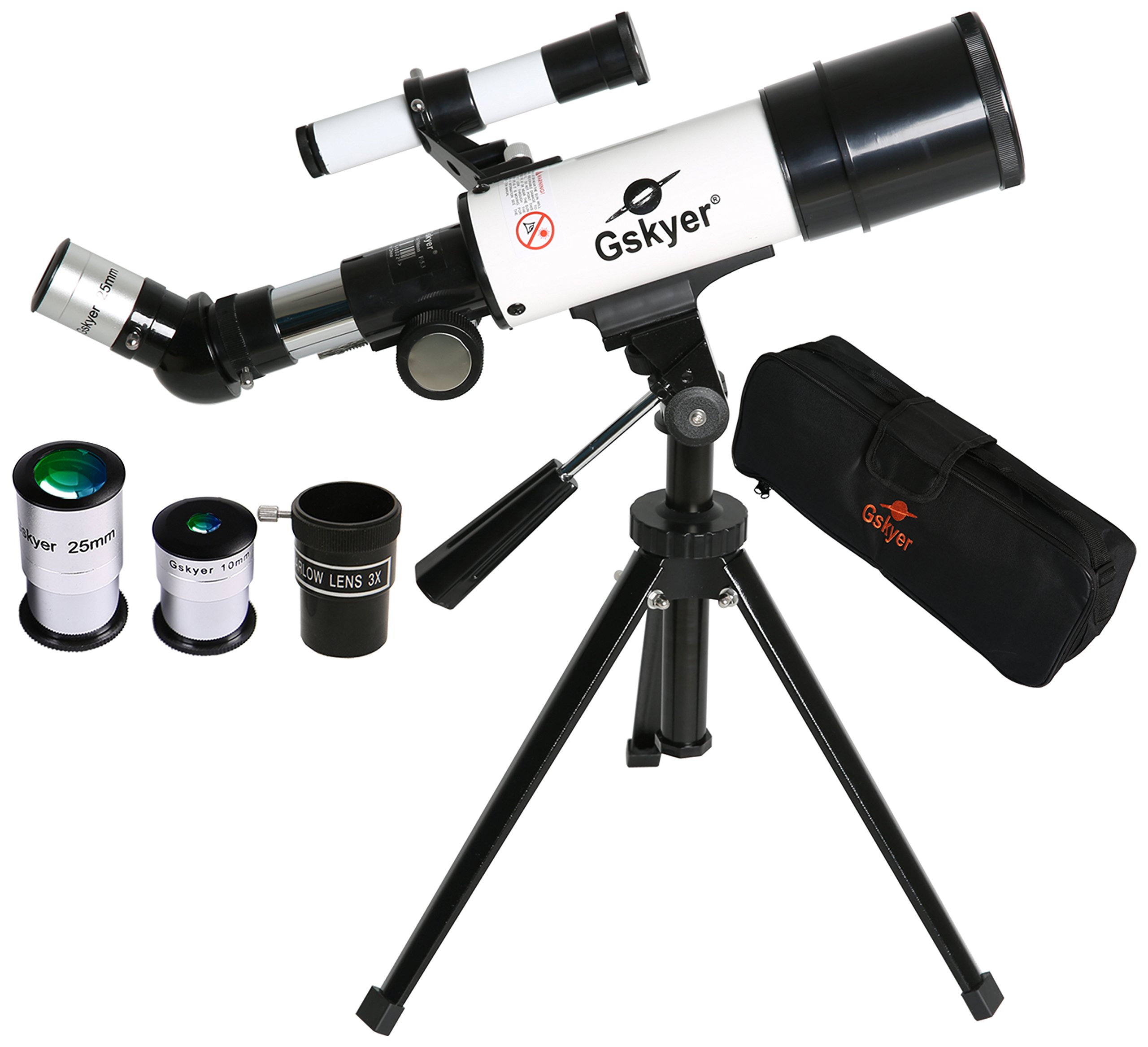Gskyer Telescope, Travel Refractor Astronomy Telescope with Bluetooth Remote Control - Perfect for Children Educational and Gift