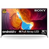 Sony BRAVIA 75 Inch Smart TV Android Full Array LED 4K Ultra HD High Dynamic Range X95H Series - KD-75X9500H (2020 Model)