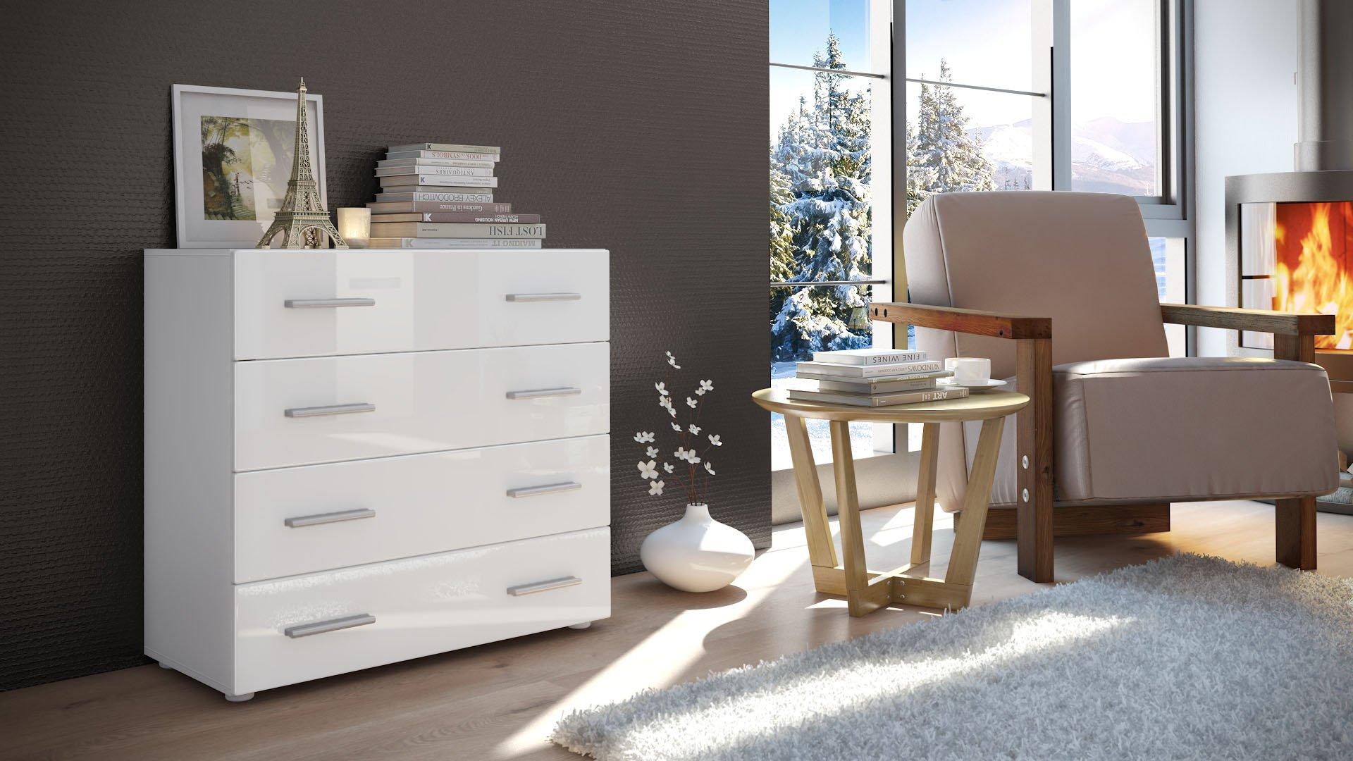 commode buffet pavos v1 v2 en blanc inspid co. Black Bedroom Furniture Sets. Home Design Ideas