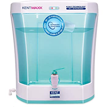 KENT Maxx 7-Litres UV + UF Water Purifier with detachable storage tank, Blue