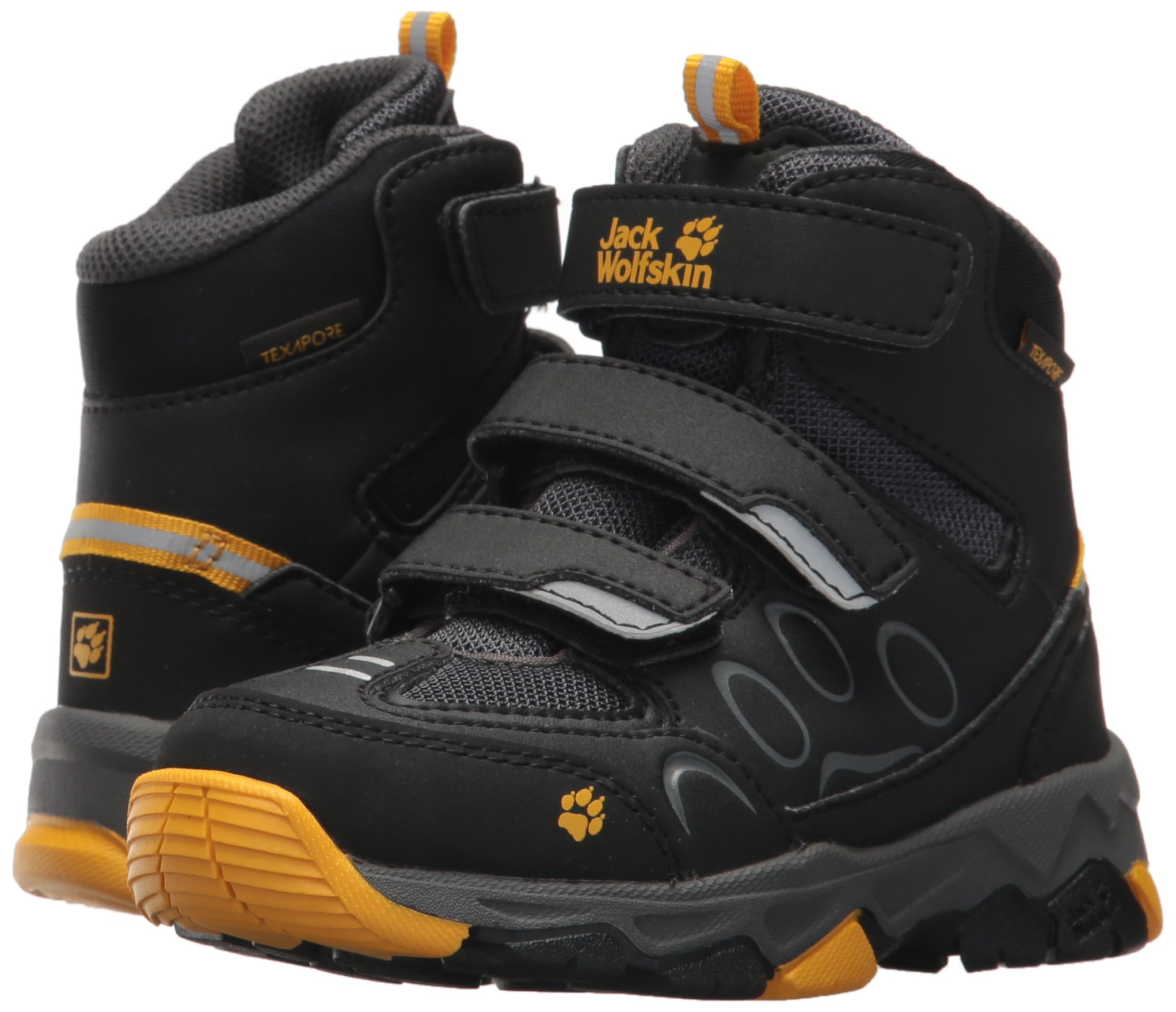 Jack Wolfskin Boy's Unisex Kids' MTN Attack 2 Texapore Mid Vc K High Rise Hiking Shoes Child 6