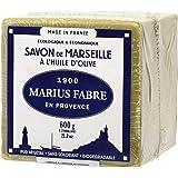 Marius Fabre - SAVON DE MARSEILLE ˆ l'Huile d'Olive - Cube 600 Gr