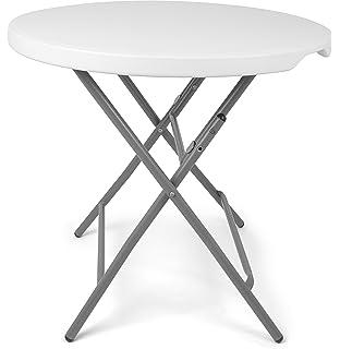 Table de jardin pliante - Style Fer Forgé - Coloris GRIS patiné ...