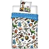 Toy Story Disney - Parure de lit - Housse de Couette - lit 1 Place