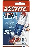 Loctite 2058224 Perfect Pen Strip 12uvc Super Glue 3 Pen-3g, Rouge