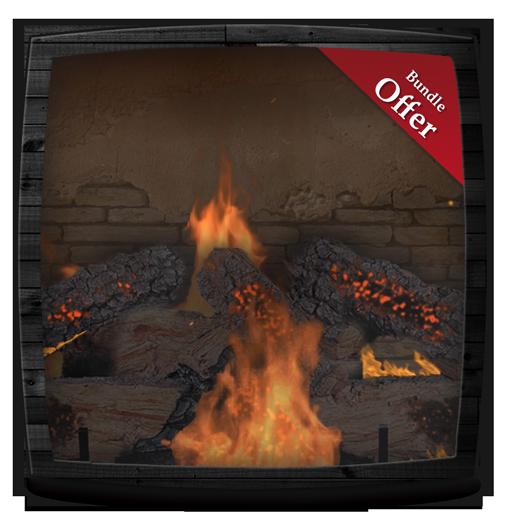 Bricks Fireplace HD - Wallpaper & Themes