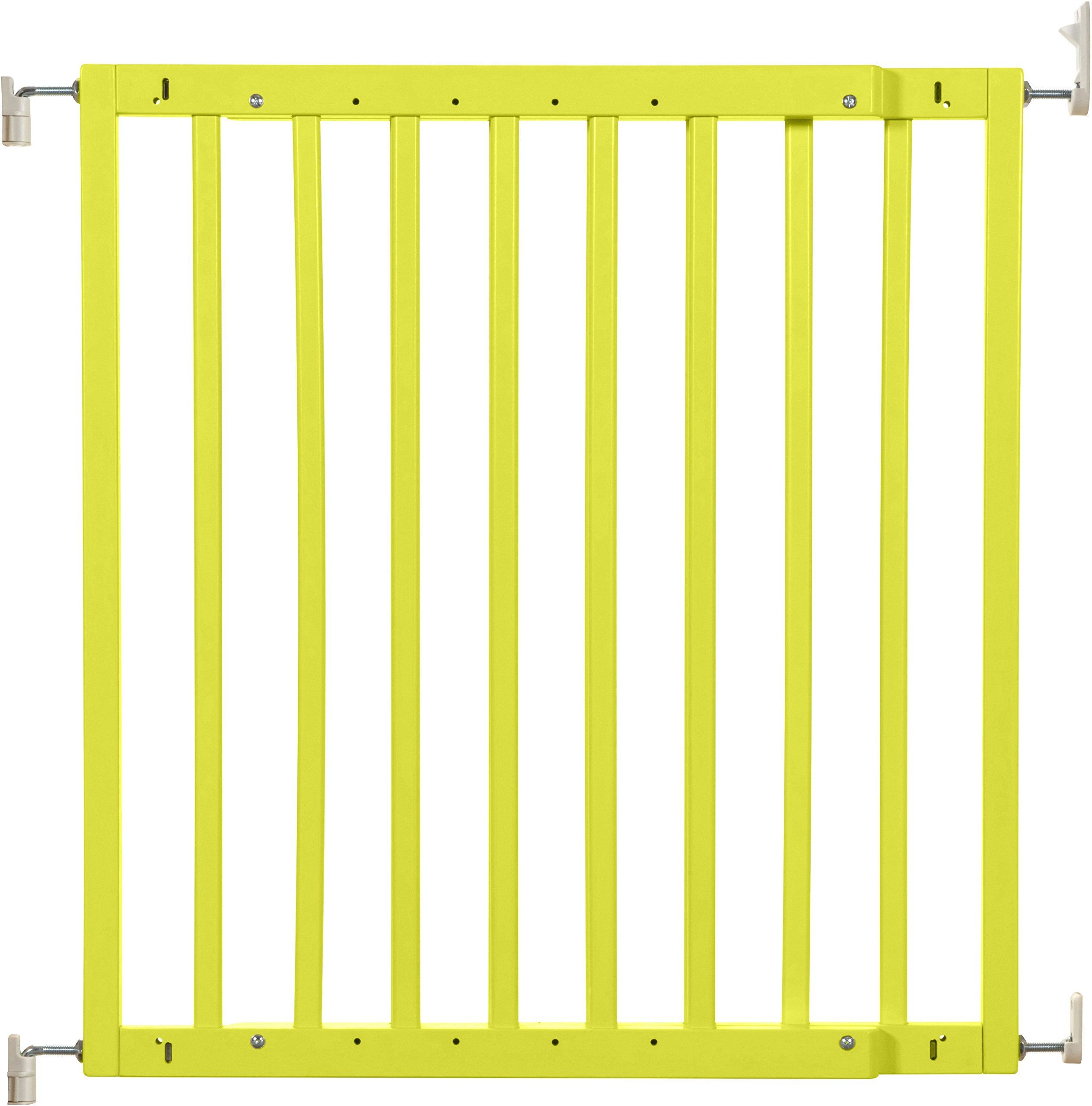 Badabulle Color Pop Safety Gate, Yellow Badabulle Mountable in just 7 minutes Easy to open Swinging door 1