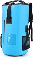 30L Roll Top Rucksack Backpack Packsäcke Dry Bag Sack Wasserdicht Licht Regenschutz