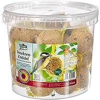 Dehner Natura Nourriture pour Oiseaux Sauvages, Boules de Graisse avec Insectes, 30 pièces (3 kg)