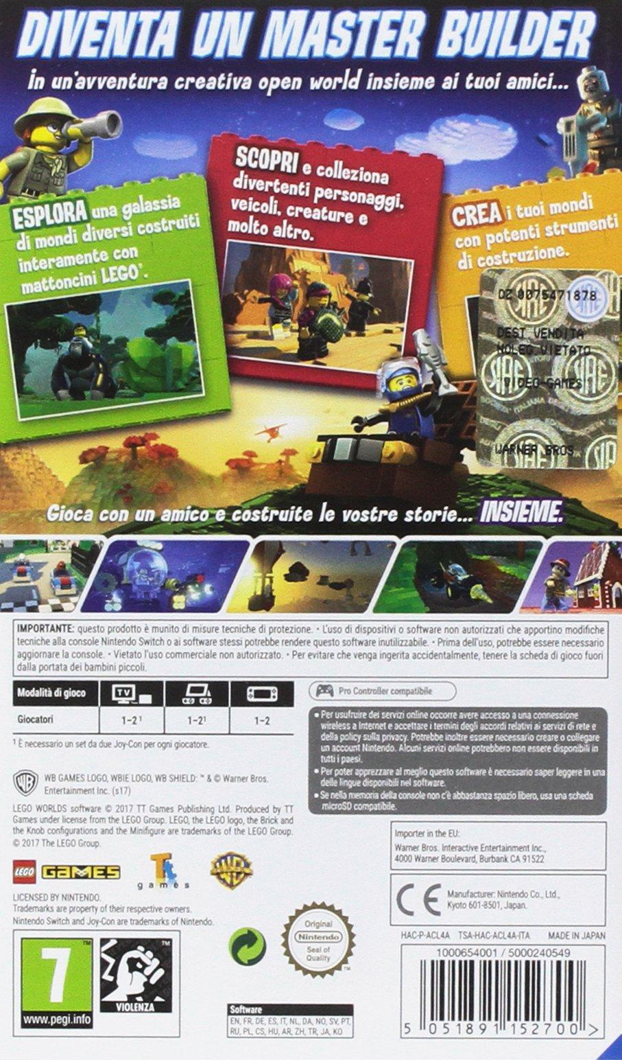 Switch Lego Worlds - Nintendo Switch 2 spesavip