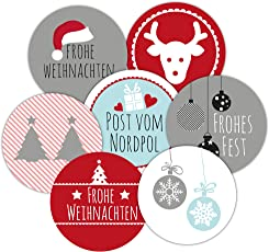 48 Frau Wundervoll Weihnachtsaufkleber Aufkleber Weihnachten Adventskalender Adventsaufkleber