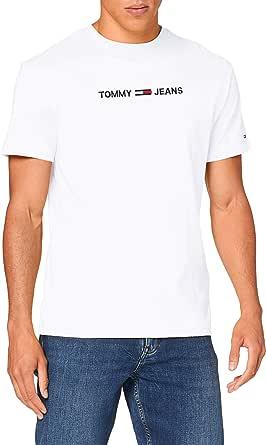 Tommy Hilfiger Tjm Straight Logo Tee Camicia Uomo